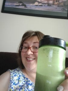 My lunch time Yokebe Smoothie