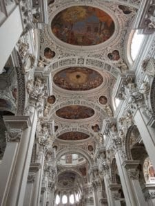 Inside Passau Cathedral