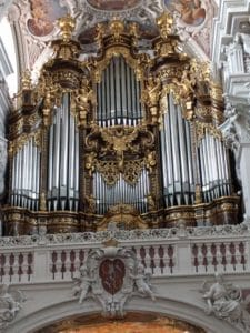 Inside Passau Cathedral - Organ