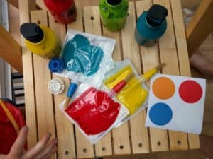 Ready to paint with Doddle Bags
