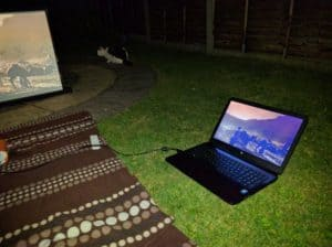 Running the GS1 from my laptop