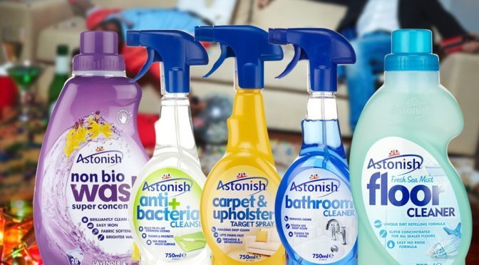 Win an Astonish Cleaning Bundle