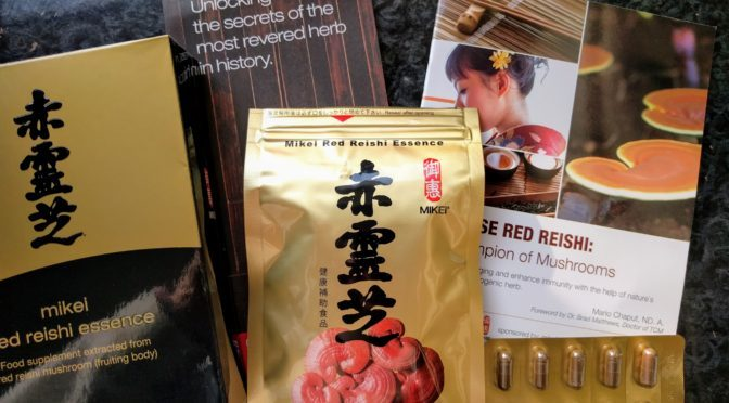 De-Stress with Mikei Red Reishi Essence