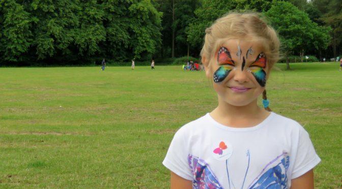 Sandringham setting for Butterfly Walk fundraiser