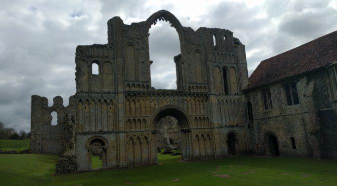 Our Visit to Castle Acre