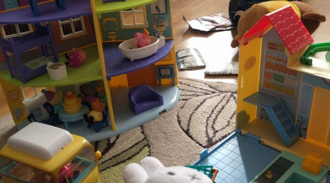 Peppa Pig & Miffy Toys from Jazwares
