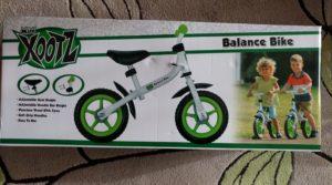xootz Balance bike in box