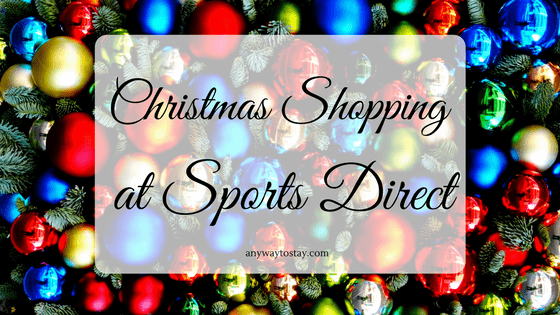 Christmas Shopping at Sports Direct