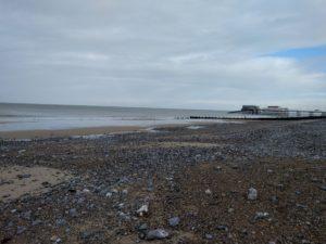 Feeling calm on the beach at cromer