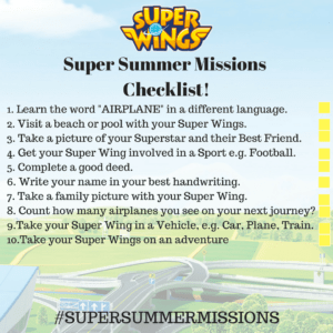 Super Summer Missions Checklist! FINAL